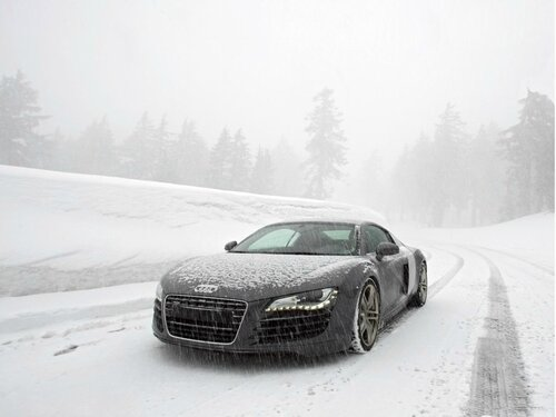 Вождение на зимней дороге