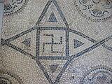 II век н. э., римская мозаика