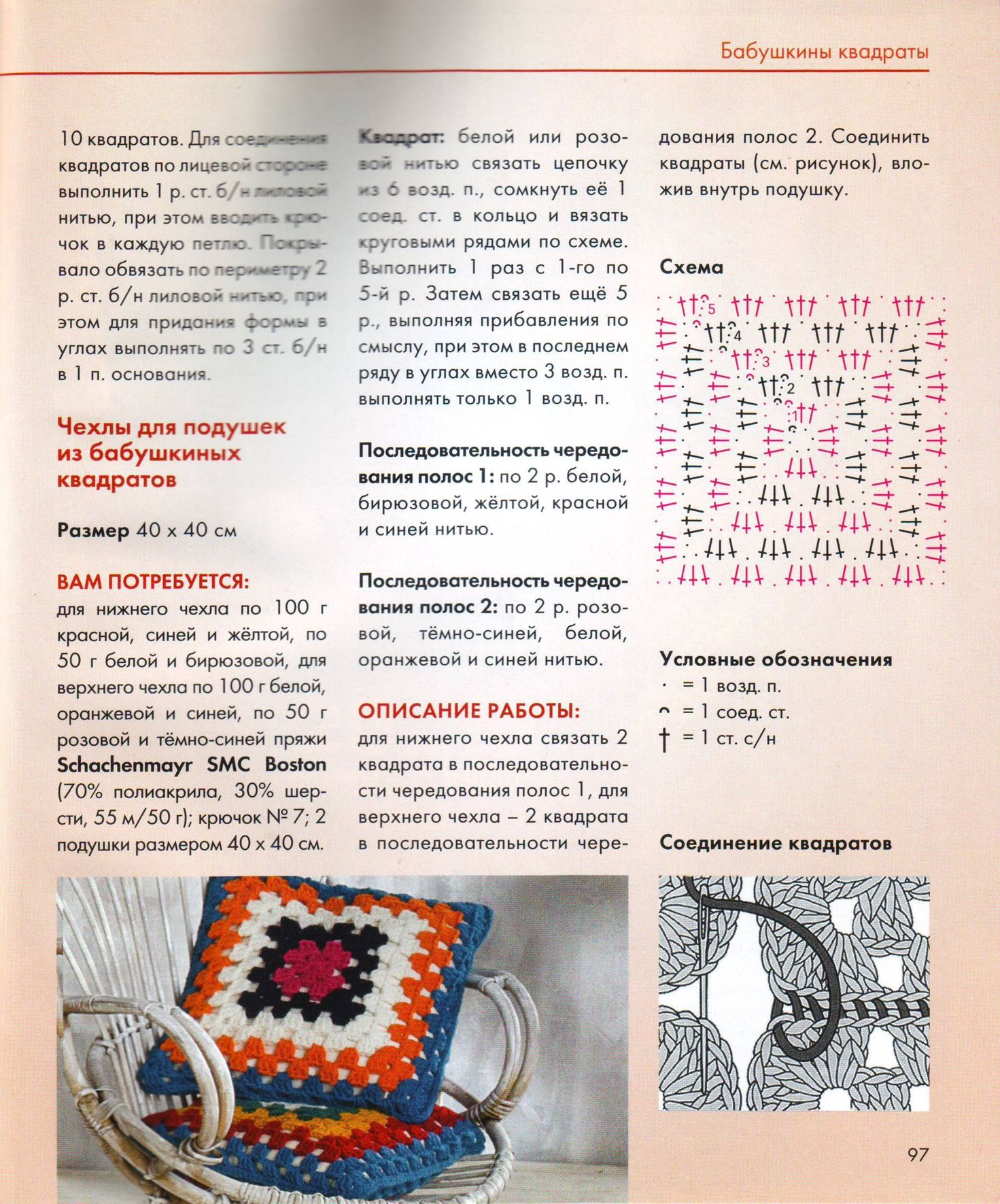 Схема и подробное описание книги