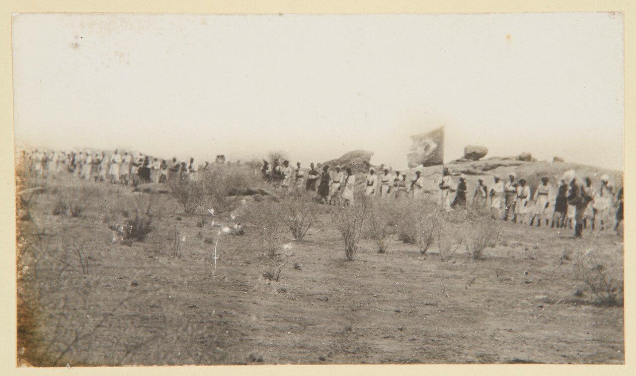 25-31 августа 1898. Джалины с захваченным египетским знаменем