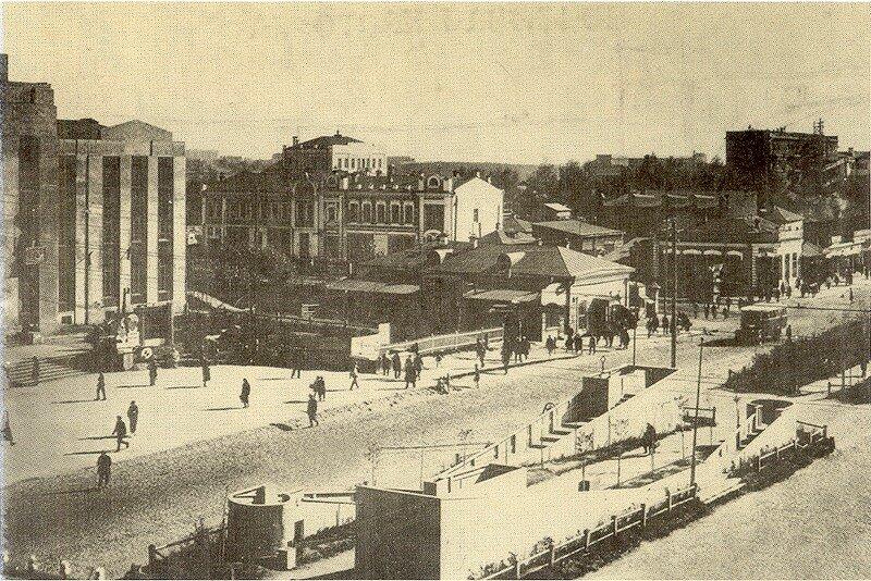 Красный проспект. Пересечение с Горького (1930-е)