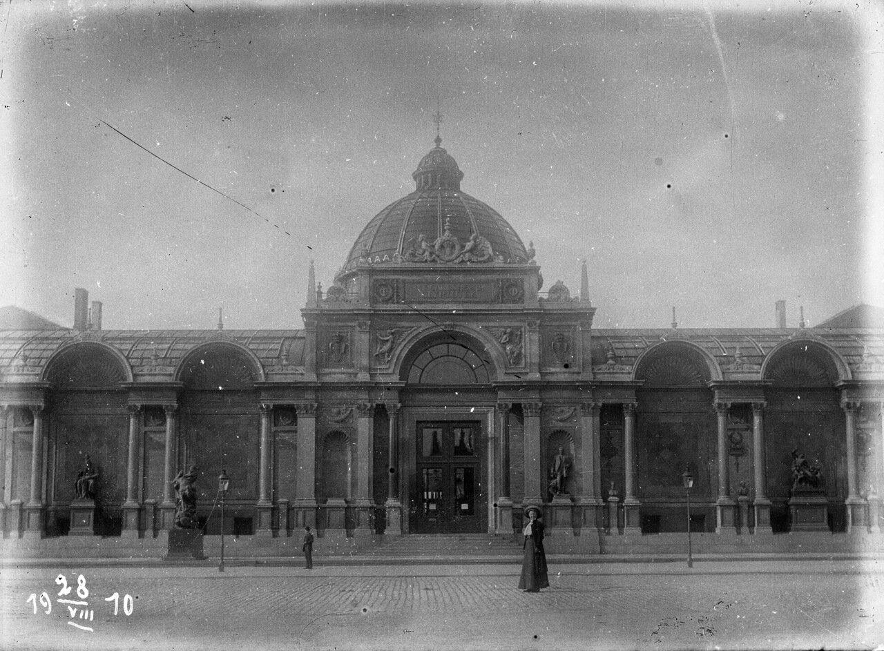 Новая глиптотека Карлсберга в Копенгагене. 1910 год