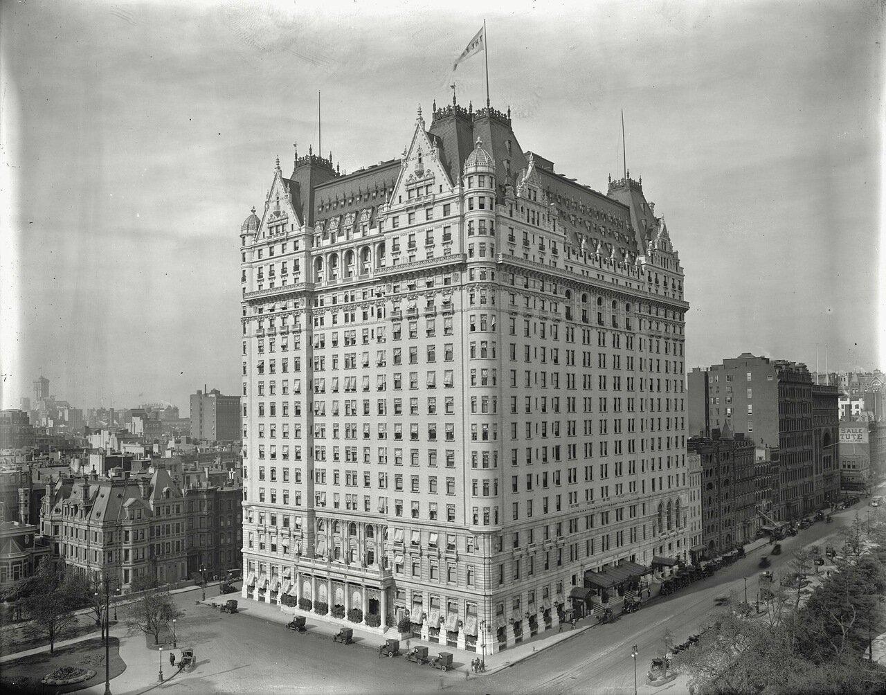 Отель Плаза, Нью-Йорк, приблизительно 1905-15 гг.