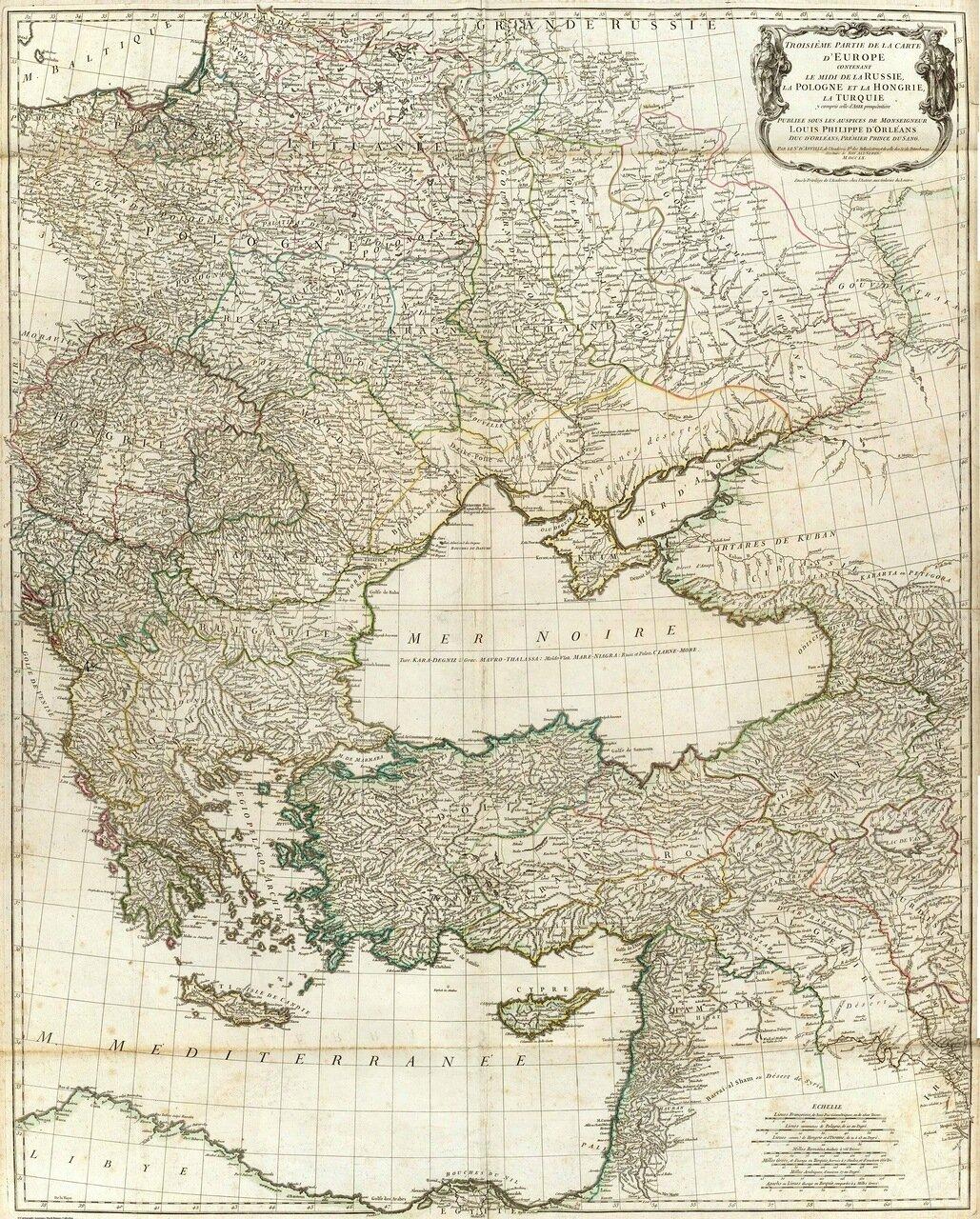 1760. Жан Батист Бургиньон де Анвиль