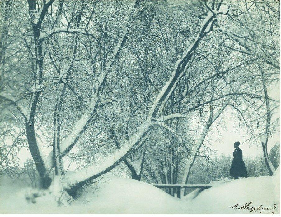 Зимой 1900 года