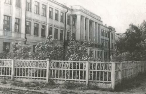 Школа №11. 1940 год