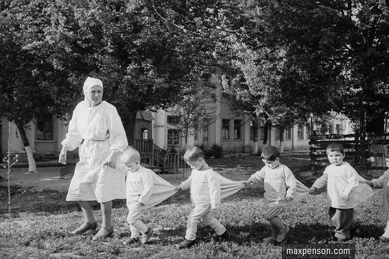 В детском доме. 1941-45 гг.