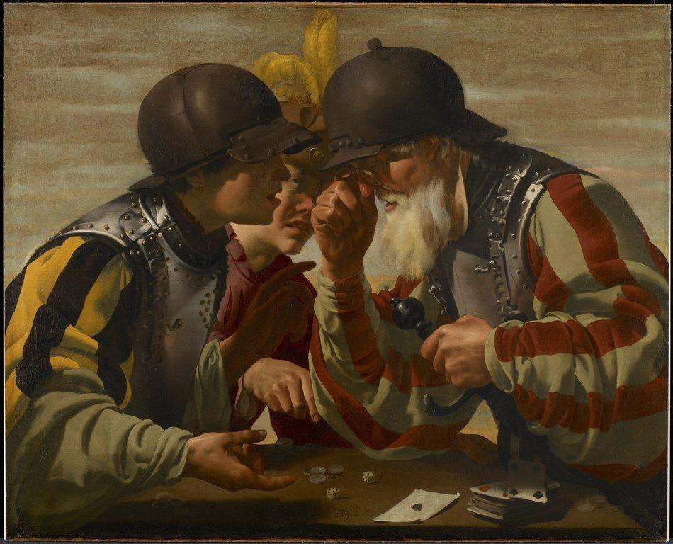 Gamblers (1623)Hendrick ter Brugghen (1588-1629