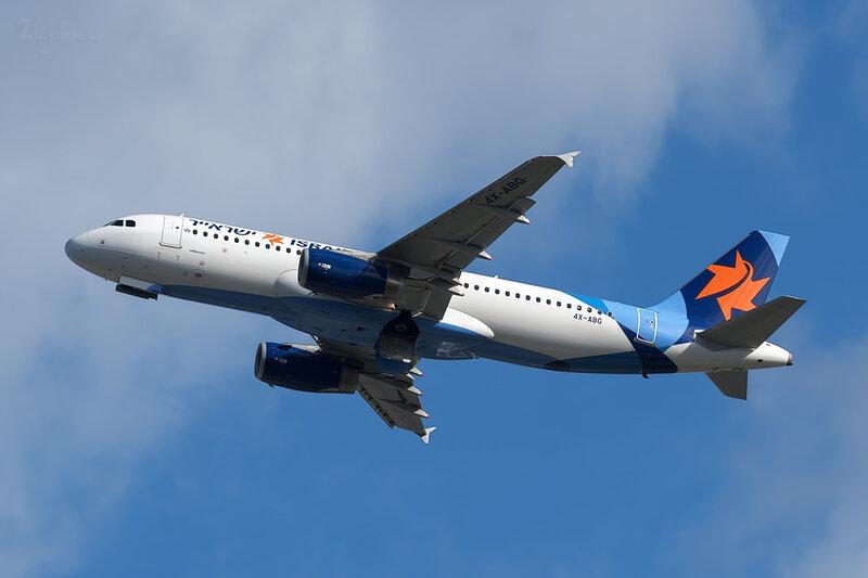 Airbus A320-232 (4X-ABG) Israir DSC6875