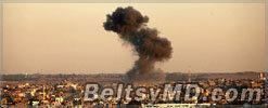 Визит Обамы в Израиль спровоцировал ракетный обстрел