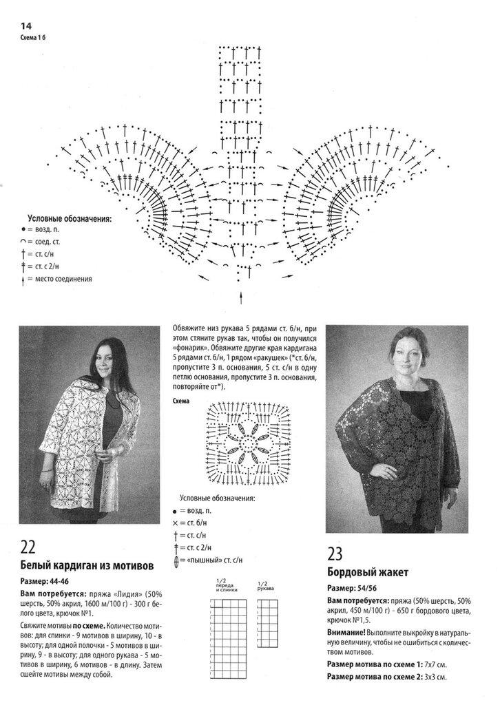 Вязаная Одежда Для Полных Дам Со Схемами