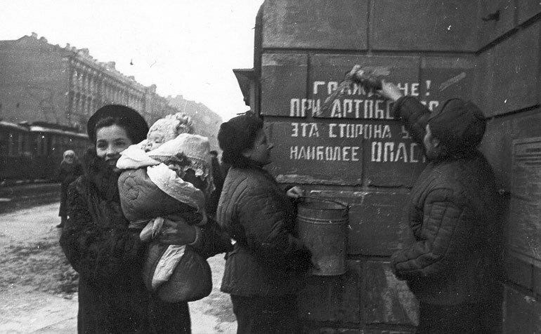 освобождение от блокады ленинграда фото