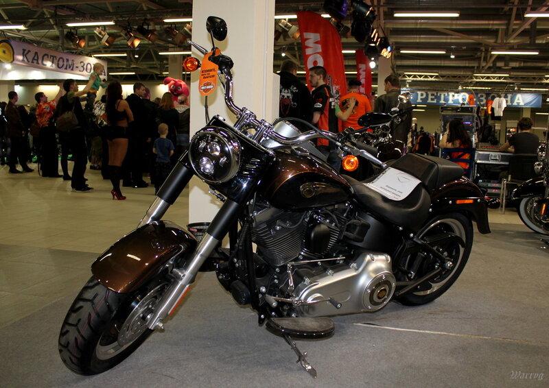 Мощный и стильный Harley-Davidson Fat Boy Special