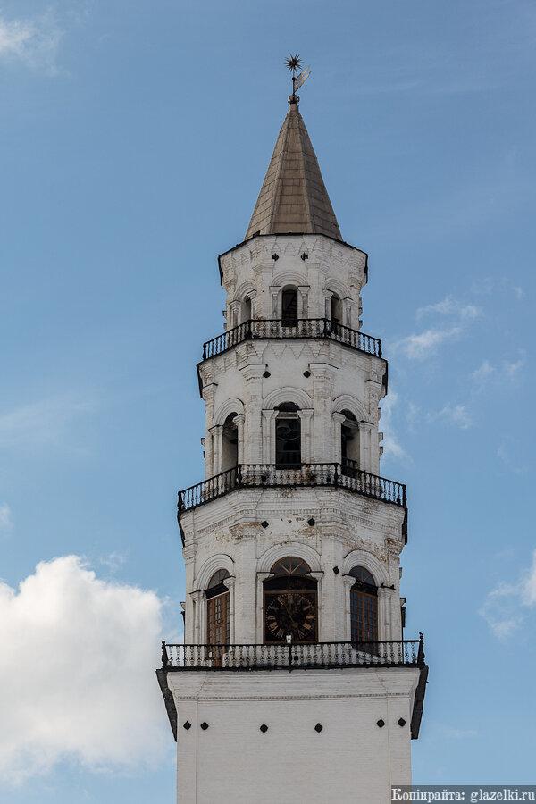 Невьянская башня. Куранты.