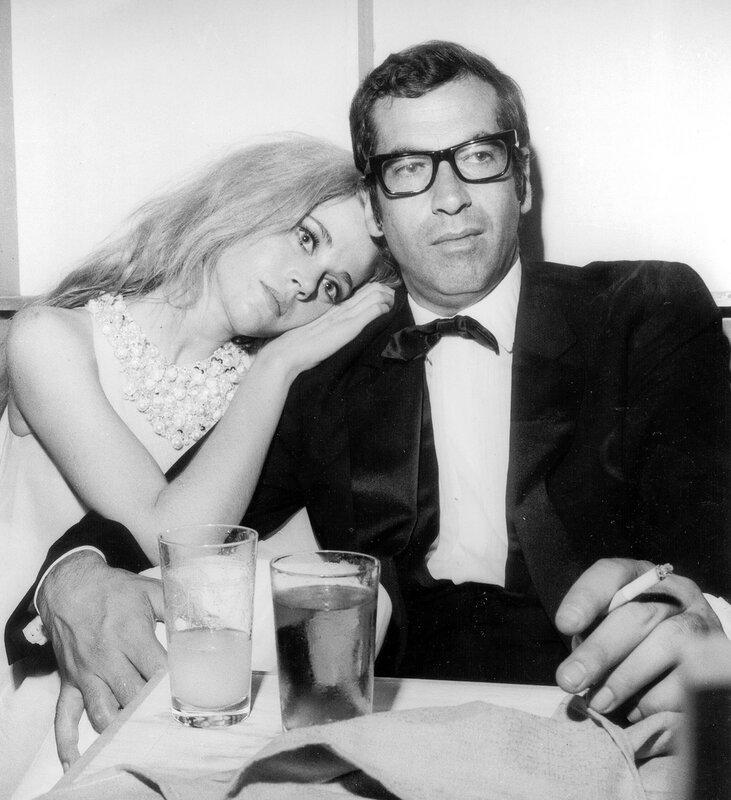 Jane FONDA mit Ehemann Roger VADIM, 1967