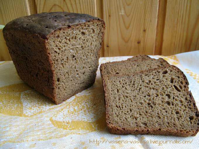 рецепт хлеба на хмелевой закваске елена зайцева