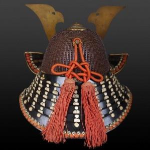 Шлем судзибати хоси кабуто