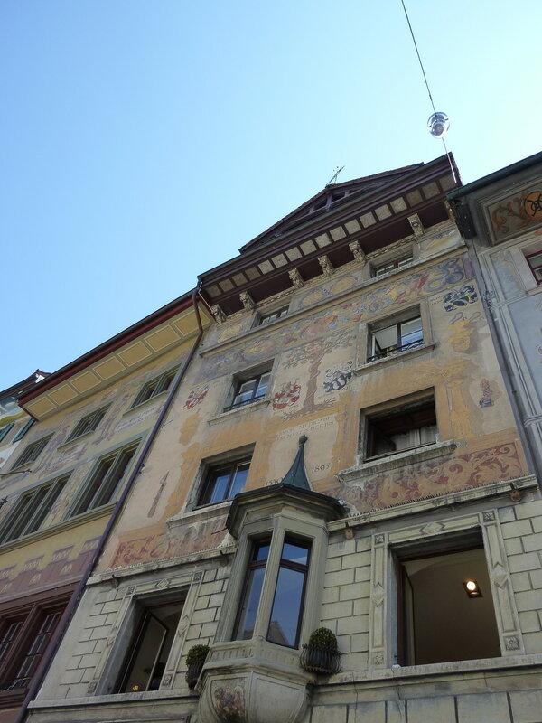 Старые дома в центре