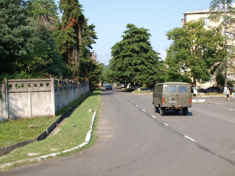 Дорога через Агудзеру