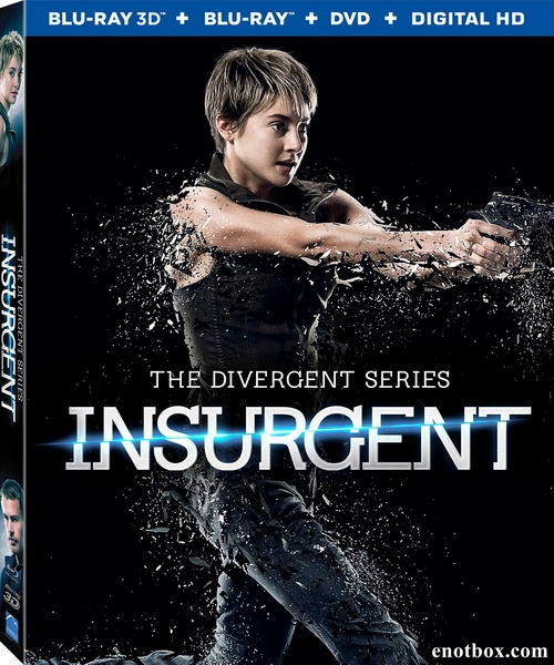 Дивергент, глава 2: Инсургент / Insurgent (2015/BDRip/HDRip)