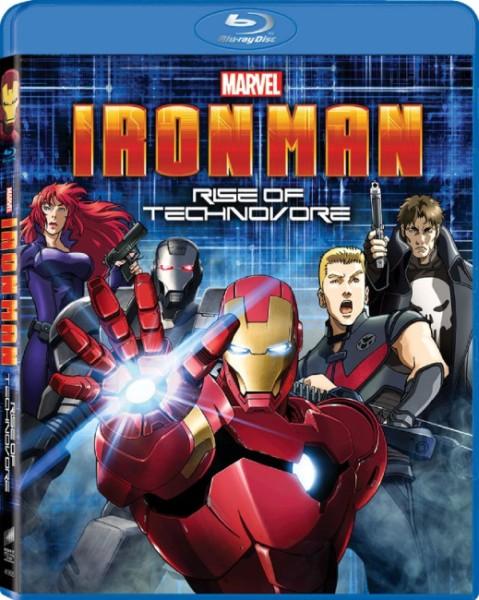 Железный Человек: Восстание Техновора / Iron Man: Rise of Technovore (2013) BDRip 720p + HDRip