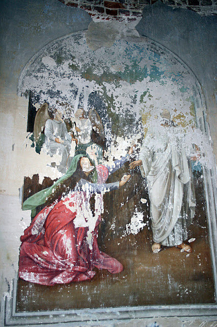 Сцена явления Христа Магдалине после его воскресения (15.04.2013)