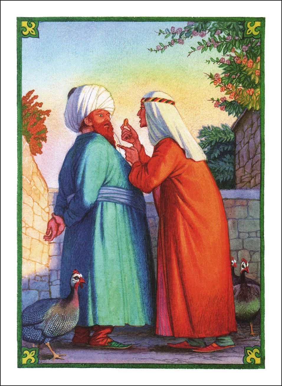 Виктор Бритвин, Али-Баба и сорок разбойников. Арабские сказки.