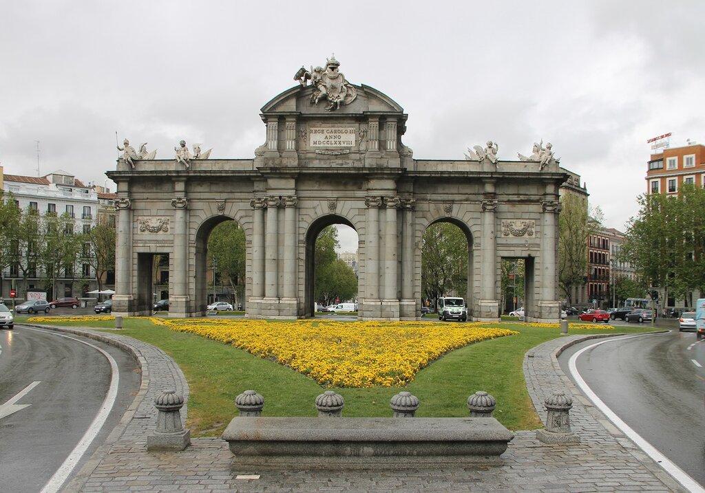Мадрид. Ворота Алькала (La Puerta de Alcalá)