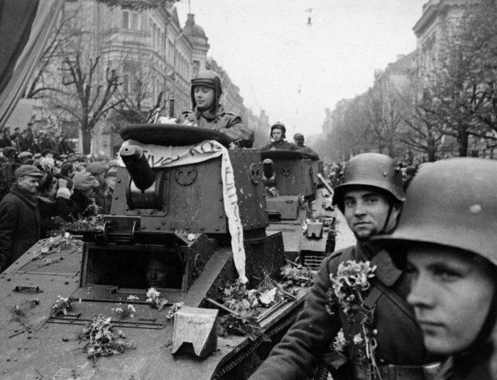сентябрь 1939-го Литва вступает в раздел Польши