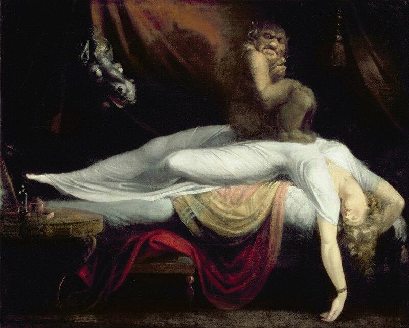 Le Cauchemar - Huile sur toile