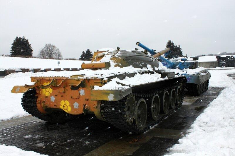 Раскрашенные танки