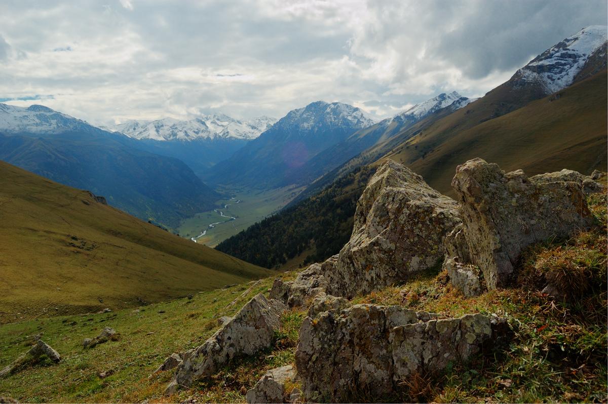 Камни горы Пастухова