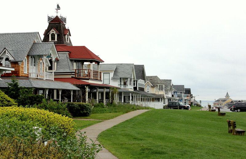 Улицы к океану. Красивые американский домики
