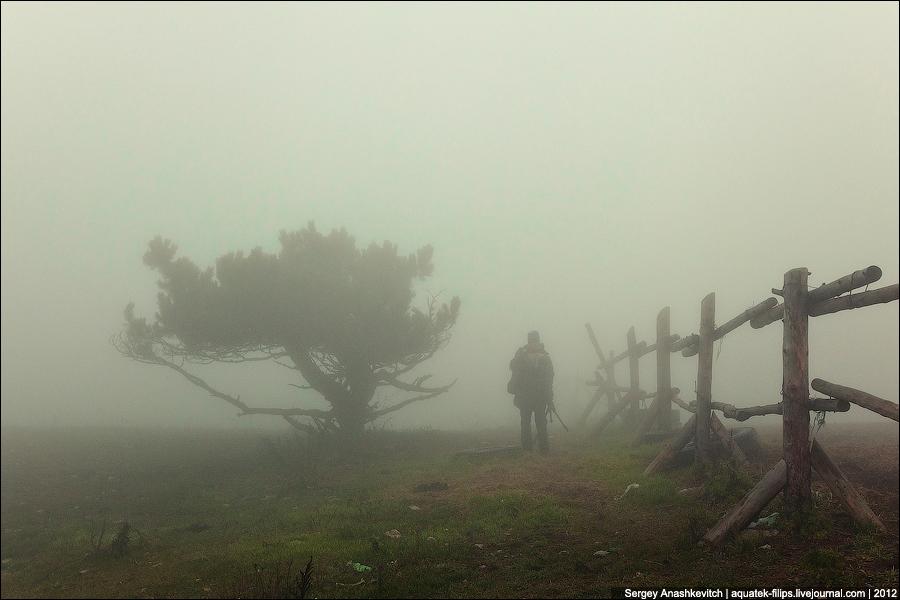 Осенние туманы на Ай-Петри