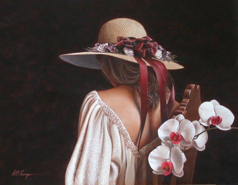 И я стану твоей орхидеей... Потрясающий реализм Марка Томпсона