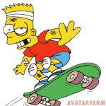 Картинки и авы с Бартом Симпсоном