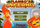 Игра Время приключений - Огненный человек Фламбо 2