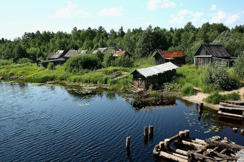 озеро Воже река Свидь