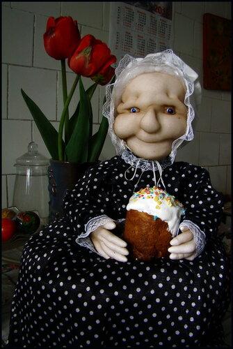 Грелка кукла на чайник своими руками