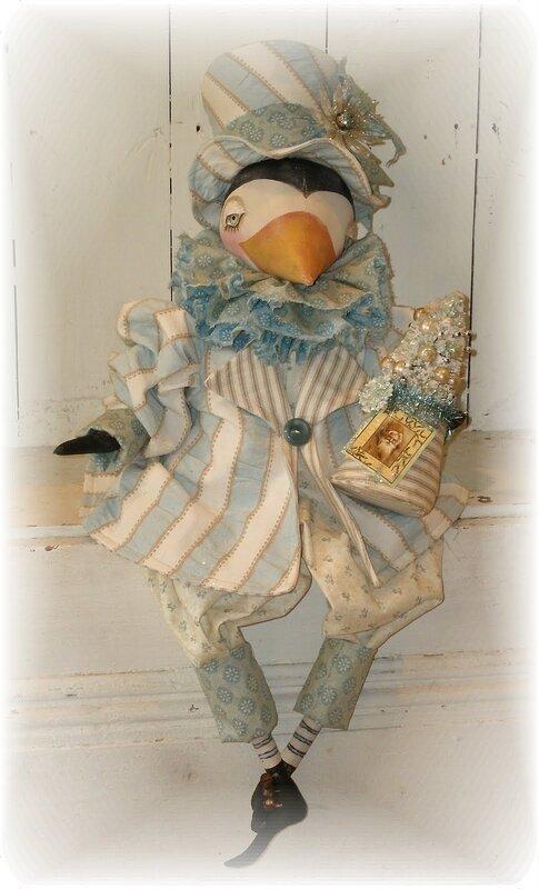 кукла ворона