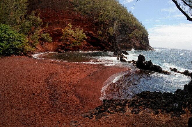 Kaihalulu Beach. Мауи, Гавайи