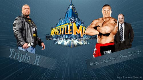 WrestleMania 29: Брок Леснар vs. Игрок