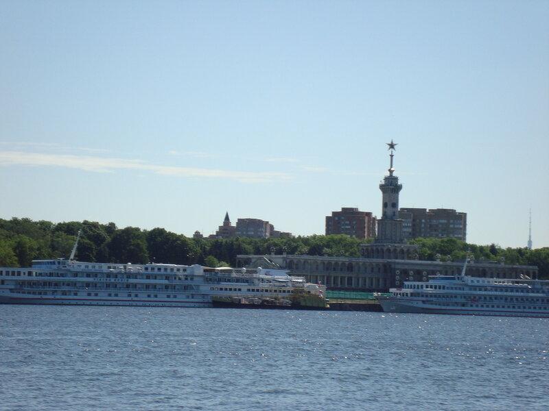 Москва. Северный речной порт. Лето 2012