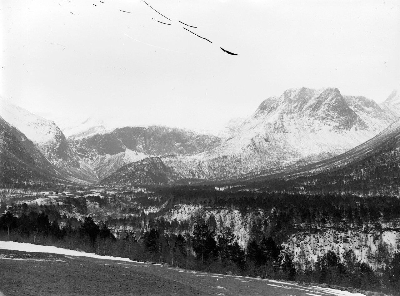 Зимний пейзаж, около 1880-1910.