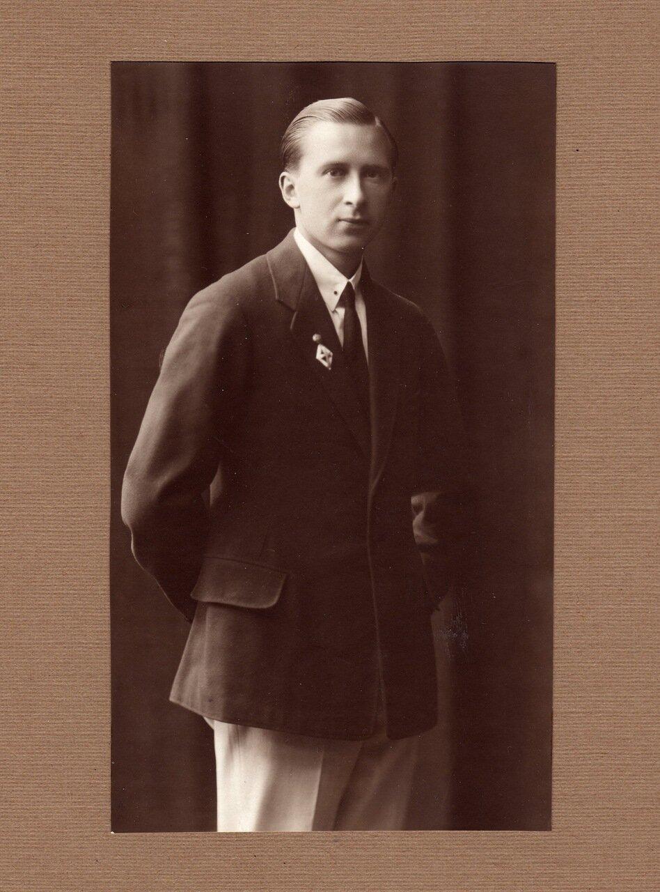 1926. К.А. Воробьев - выпускник МГУ