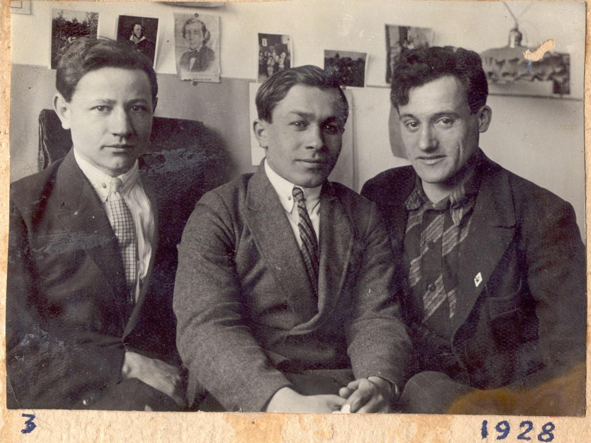 Студенты 2-го курса Экфака ТСХА (1928)