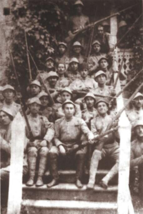 Солдаты армии АДР в Баку. 1919 год