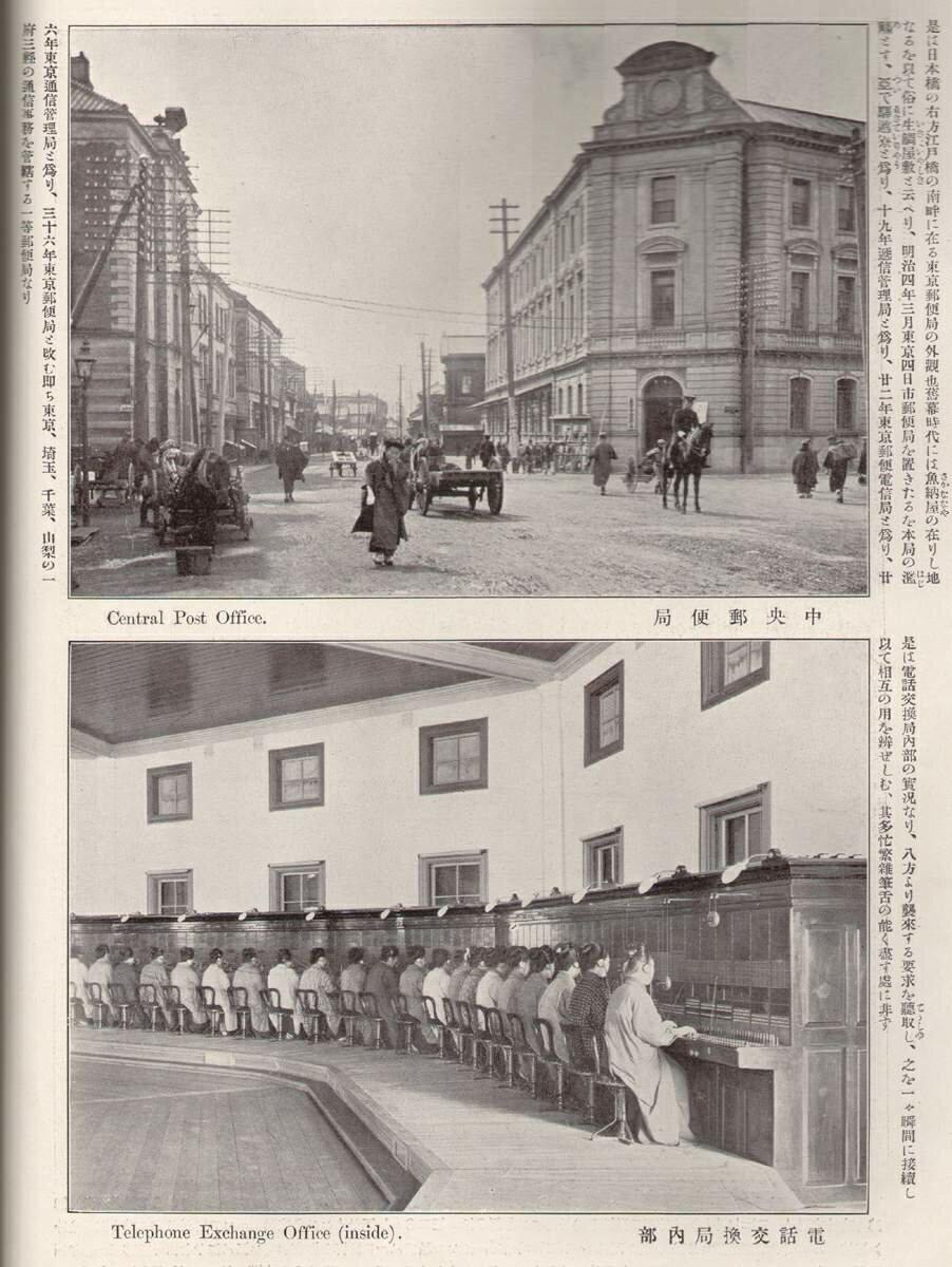 Центральное почтовое отделение и телефонная станция