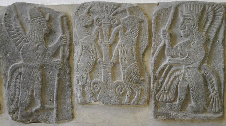 Ортостаты из Телль Халафа, Пергамон