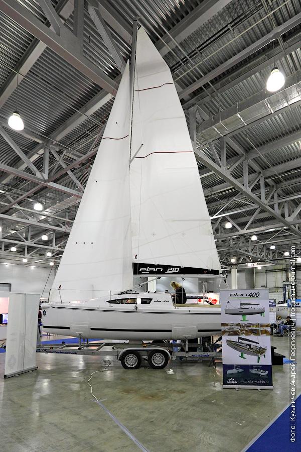 Парусная яхта «Elan 210»